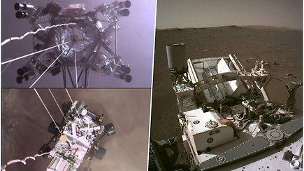 Paklausykite, kaip skamba Marsas – NASA pirmą kartą paskelbė garso įrašą iš Raudonosios planetos