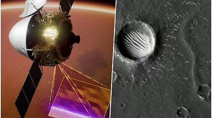 Paskelbti didelės raiškos Marso vaizdai – aiškiai matomas reljefas ir smulkiausi krateriai