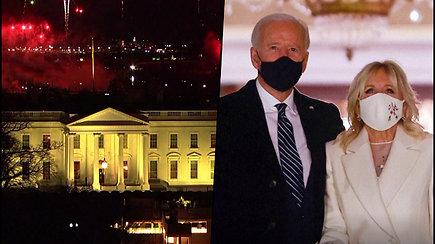 J.Bidenas prisaikdintas 46-uoju JAV prezidentu
