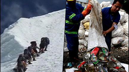 Everestas virsta šiukšlynu – kiekvienas išvykstantis turės išnešti 1 kg šiukšlių, kurias eksponuos muziejus
