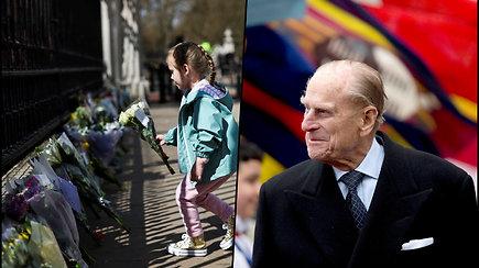 Didžiosios Britanijos karališkoji šeima paskelbė, kad mirė Edinburgo hercogas Philipas