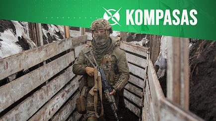 Rusija telkia karius prie Ukrainos sienos: ar yra ko baimintis?