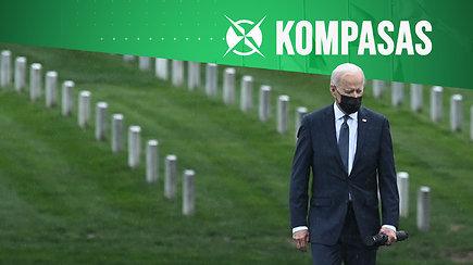 """""""Kompasas"""": po 20 karo metų amerikiečiai Afganistane palieka chaosą"""