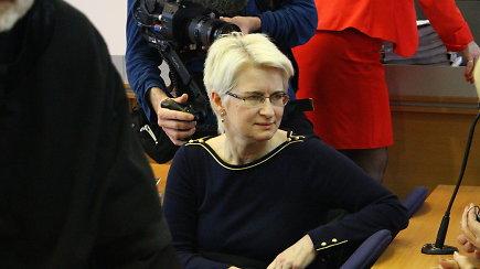 Neringa Venckienė nesutinka su prašymu rengti neviešus posėdžius