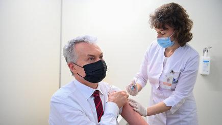 Prezidento G.Nausėdos kvietimas skiepytis: vakcinų turime pakankamai