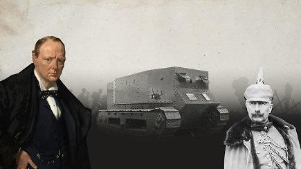 """""""Mažasis Vilis"""" – kaip atrodė pirmasis veikiantis tankas istorijoje?"""