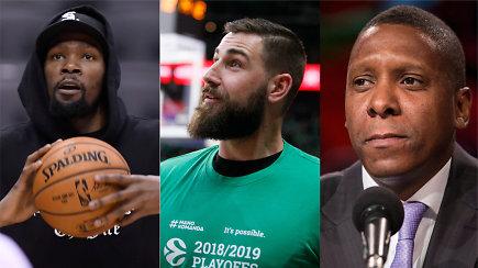 """""""Ginčas"""": kaip Jonas Valančiūnas turėtų jaustis gavęs NBA čempiono žiedą?"""