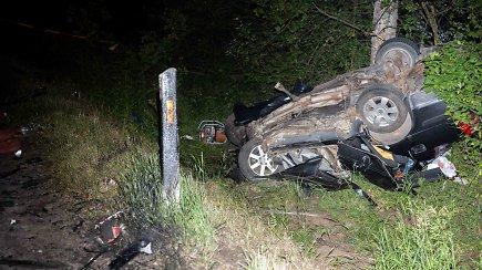 Tragiškai pasibaigusi avarija Vilniaus rajone