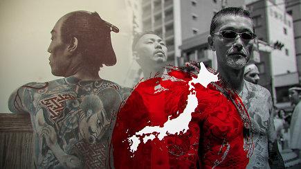 Paslaptingoji Japonijos mafija Jakudza: kodėl nariai nusikerta pirštus?