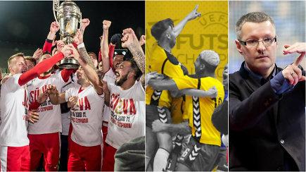 """""""Vieni vartai"""": auksinis sūduviečių triumfas ir futsalo čempionatas šalyje, kurioje nėra futsalo"""