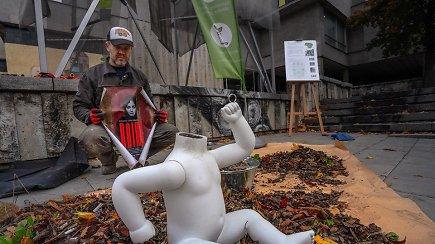 """15min pristato: Palangoje startuoja 1200 kilometrų 80-ies dienų žygis """"Už švarią Lietuvą!"""""""