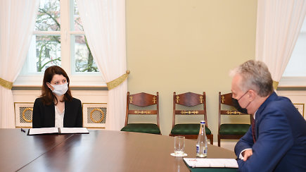 Prezidento patarėjas: M.Navickienė prezidentui paliko gerą įspūdį
