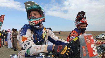 A.Gelažninkas iškovojo istorinę pergalę Dakare: jau džiaugiausi iki finišo važiuodamas