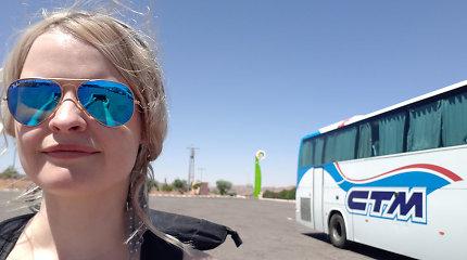 Keliautojo atmintinė: tarpmiestiniai autobusai ir traukiniai Maroke