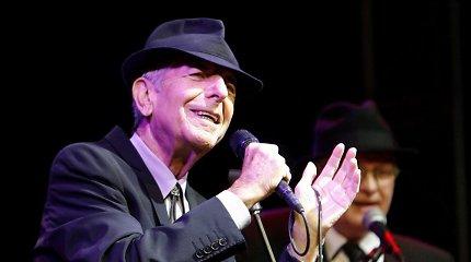 Muzikos garsenybės per koncertą Monrealyje pagerbs prieš metus mirusio Leonardo Coheno atminimą