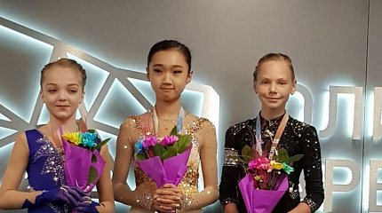 Minske – lietuvė čiuožėja Agnė Ivanovaitė pelnė bronzą