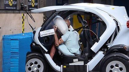 """""""Euro NCAP"""" išvada: maži automobiliai yra mirtinai pavojingi"""