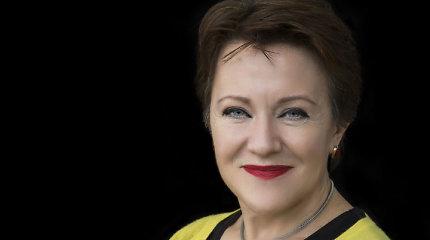 """BBC žurnalistė Rosie Goldsmith: """"Literatūra mums padeda jus geriau suprasti"""""""