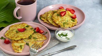 Blyneliai ir varškėtukai Motinos dienos vėlyviesiems pusryčiams: 15 puikių receptų