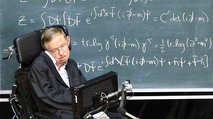 Astrofiziko Stepheno Hawkingo vežimėlis parduotas aukcione beveik už 300 tūkst. svarų