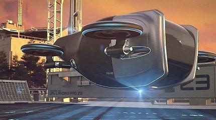 """""""Goodyear"""" padangos iš fantastikos srities: galės pakelti automobilį į orą"""