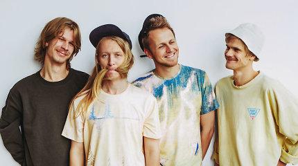 """Grupė """"Garbanotas"""" pristato naują, miuziklo įkvėptą albumą """"Paskutinė saulė"""" ir ruošiasi koncertams"""