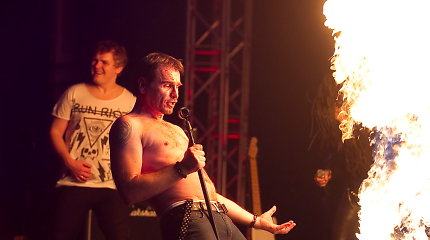 Marijonas Mikutavičius savo turo finaliniame koncerte Vilniuje nenusileido pasaulinio garso žvaigždėms