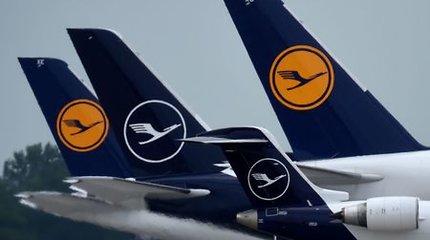 """""""Lufthansa"""" pasiekė susitarimą su profsąjunga dėl pilotų atleidimo nukėlimo"""