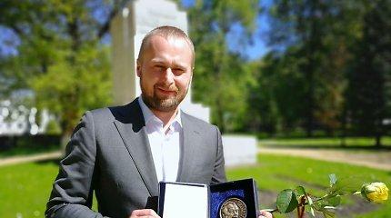 15min žurnalistui Dovydui Pancerovui – prestižinis žurnalistikos apdovanojimas