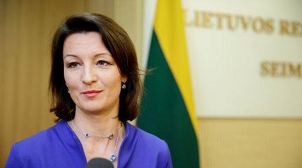 PLB pirmininkė: pilietybės referendumo klausimą reikėtų formuluoti paprasčiau