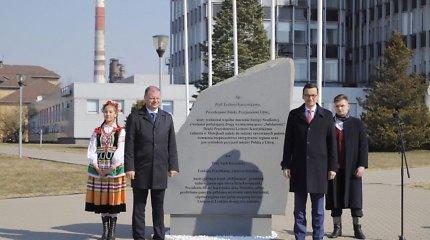 Lietuvos ir Lenkijos premjerai džiaugiasi gyva L.Kaczynskio šalių bendrystės vizija
