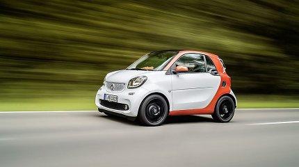 """""""Smart"""" išgelbėtas nuo išnykimo: investuos kinų įmonė, perpirkusi """"Volvo"""""""
