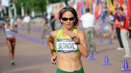 Vyriausia šalies lengvaatletė Kristina Saltanovič tikisi žingsniuoti ir penktoje olimpiadoje