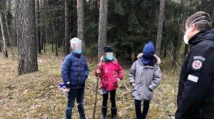 Vilniaus policijos vadovai padirbėjo trijų neprižiūrimų vaikų auklėmis