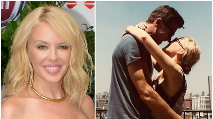 Kylie Minogue širdies žaizdas po sužadėtinio išdavystės užgydė nauja meilė