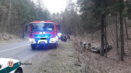 Pirmadienį eismo įvykiuose nukentėjo trys garbaus amžiaus žmonės