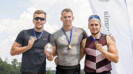 Lietuvos čempionate net 6 aukso medalius iškovojo Henrikas Žustautas