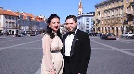 Operos solisto Rafailo Karpio žmona Diana laukiasi trečio vaiko: žinia privertė dar labiau pasitempti