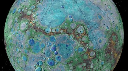 Pristatytas pirmasis Europos misijos į Merkurijų zondas