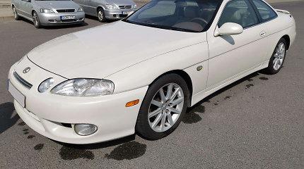"""Naudotas pirmos kartos """"Lexus SC"""" – legendinės """"Toyota Supra"""" pirmos eilės pusbrolis"""