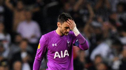 """Pavojaus varpai """"Tottenham"""" ekipai – riešą susilaužė Hugo Lloris"""