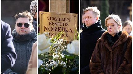 Antakalnio kapinėse paminėtos Virgilijaus Noreikos mirties metinės