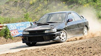 """""""Subaru klubas"""" pradėjo 11-ąją """"Gravel Challenge"""" seriją """"Liqui Moly"""" taurei laimėti"""