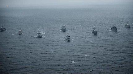 Į Klaipėdą atplaukia šeši NATO laivai