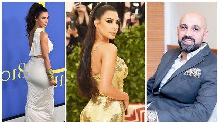 """""""Braziliškų užpakaliukų"""" meistras: nuo 2010-ųjų sėdmenų tendencijas diktuoja tokios moterys kaip K.Kardashian"""
