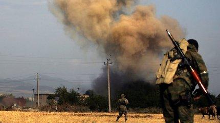 Šešios Vakarų šalys paragino Rusiją išvesti savo pajėgas iš Sakartvelo