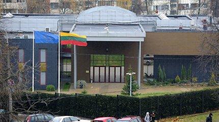 Prie Lietuvos ambasados Minske vyksta paramos A.Lukašenkai akcija