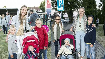 Pajūryje šurmuliuojantis sporto festivalis subūrė ir garsenybes su šeimomis