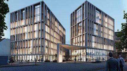 Šiaulių banko centrinės būstinės Kauno padaliniai ir dukterinės bendrovės pavasarį įsikurs naujame biure