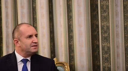 Bulgarijos prezidentas pradėjo saviizoliaciją Estijoje